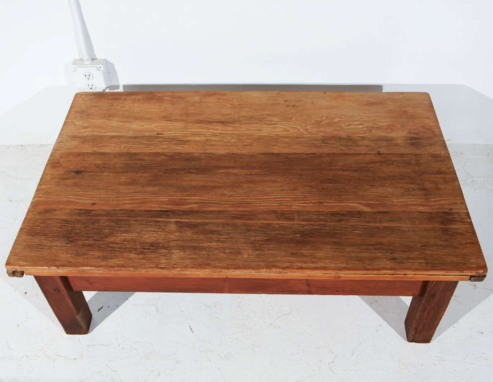 Rustic farmhouse coffee table at 1stdibs Farmhouse coffee tables