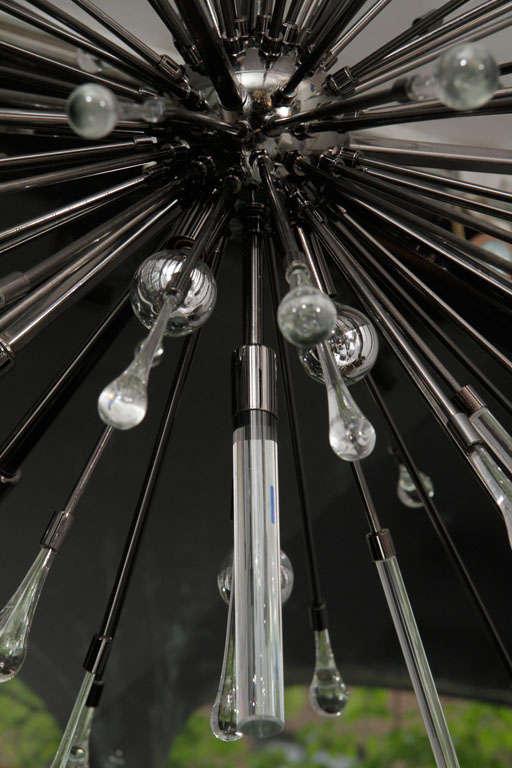 Black Nickel-Plated Tear Drop Sputnik For Sale 1