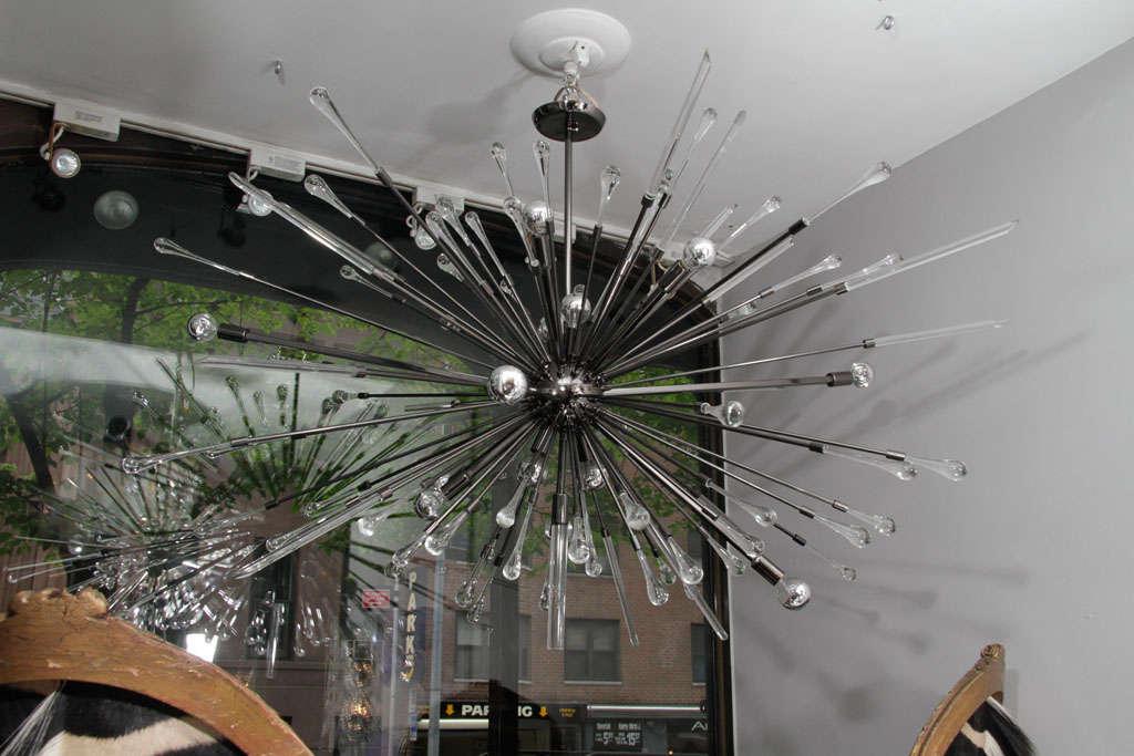 Black Nickel-Plated Tear Drop Sputnik For Sale 2