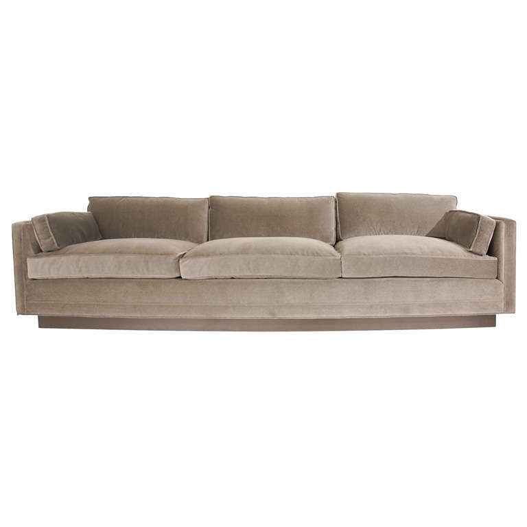 Large And Stately Sofa Designed By William Haines At 1stdibs