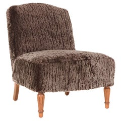 Petite Slipper Chair by William Haines