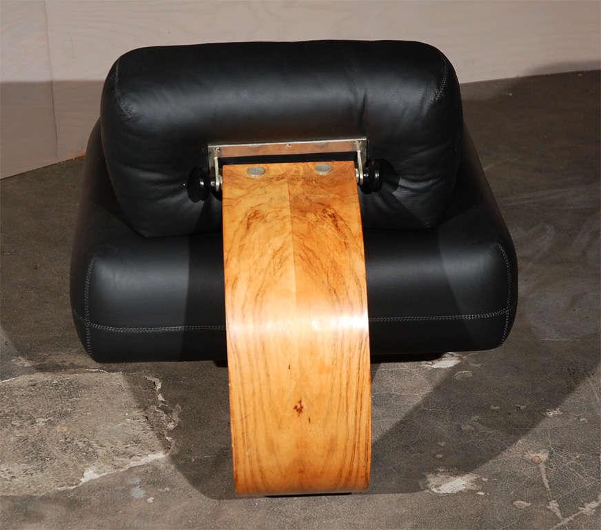 Oscar Niemeyer Lounge Chair And Ottoman At 1stdibs