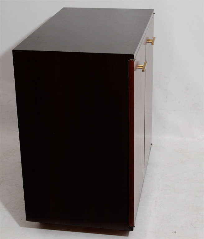Modernist Mahogany Cabinet In Good Condition For Sale In New York, NY