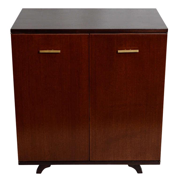 Modernist Mahogany Cabinet 1