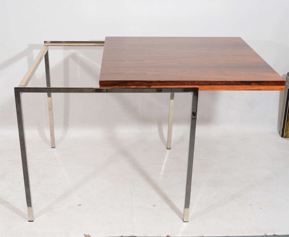 Fantastic Fold Out Rosewood Dining Table Image 4