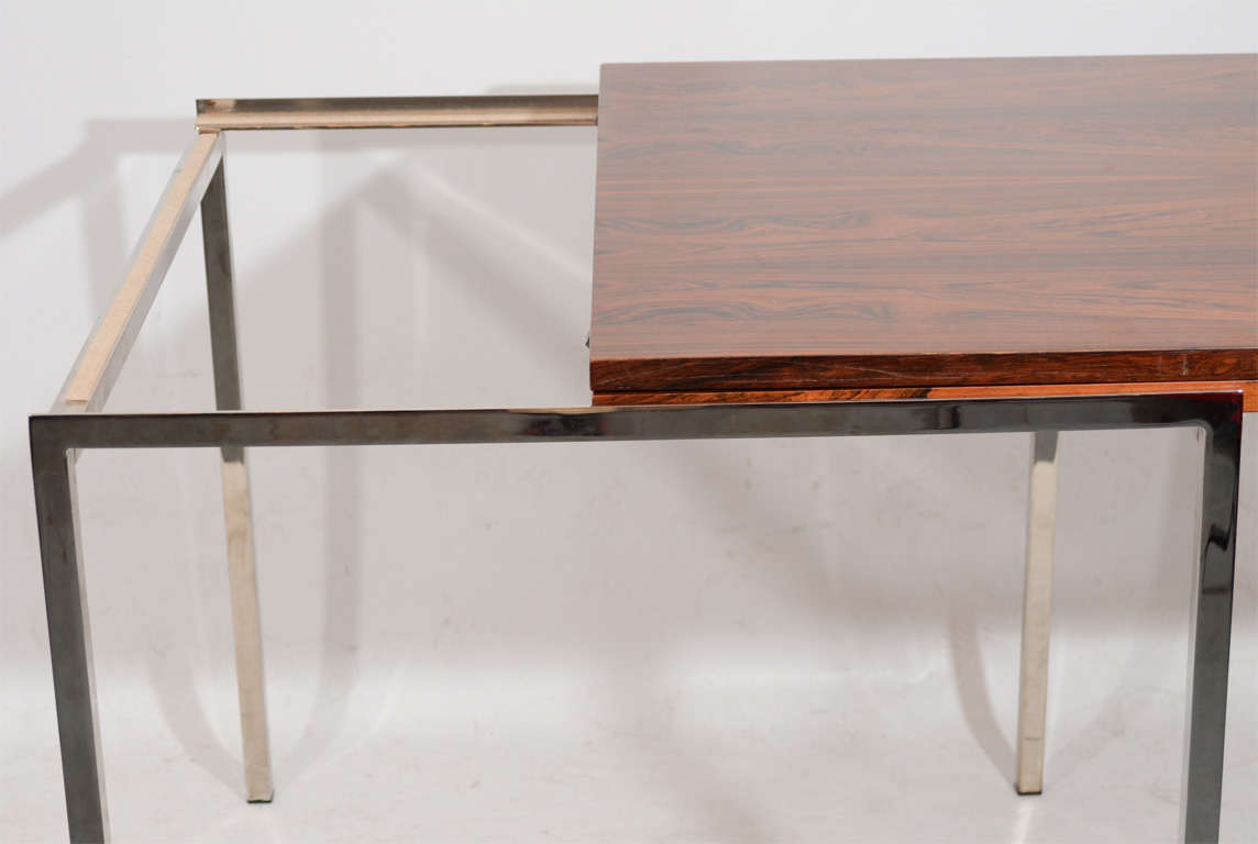 Fantastic Fold Out Rosewood Dining Table Image 5