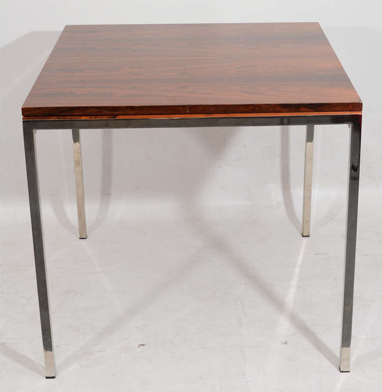 Fantastic Fold Out Rosewood Dining Table At 1stdibs