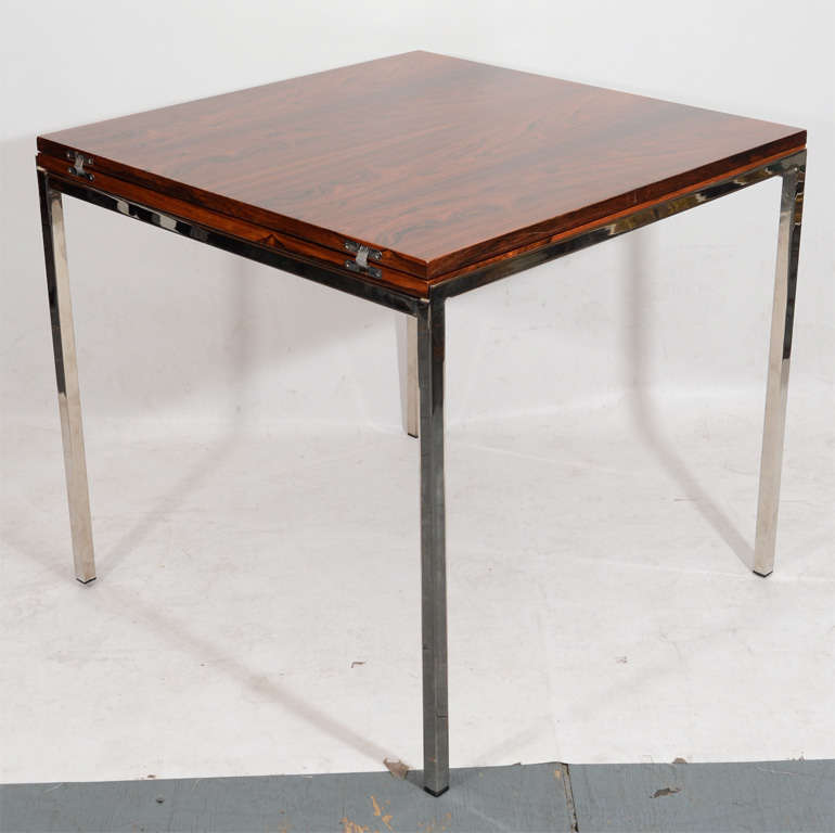 Fantastic Fold Out Rosewood Dining Table Image 7