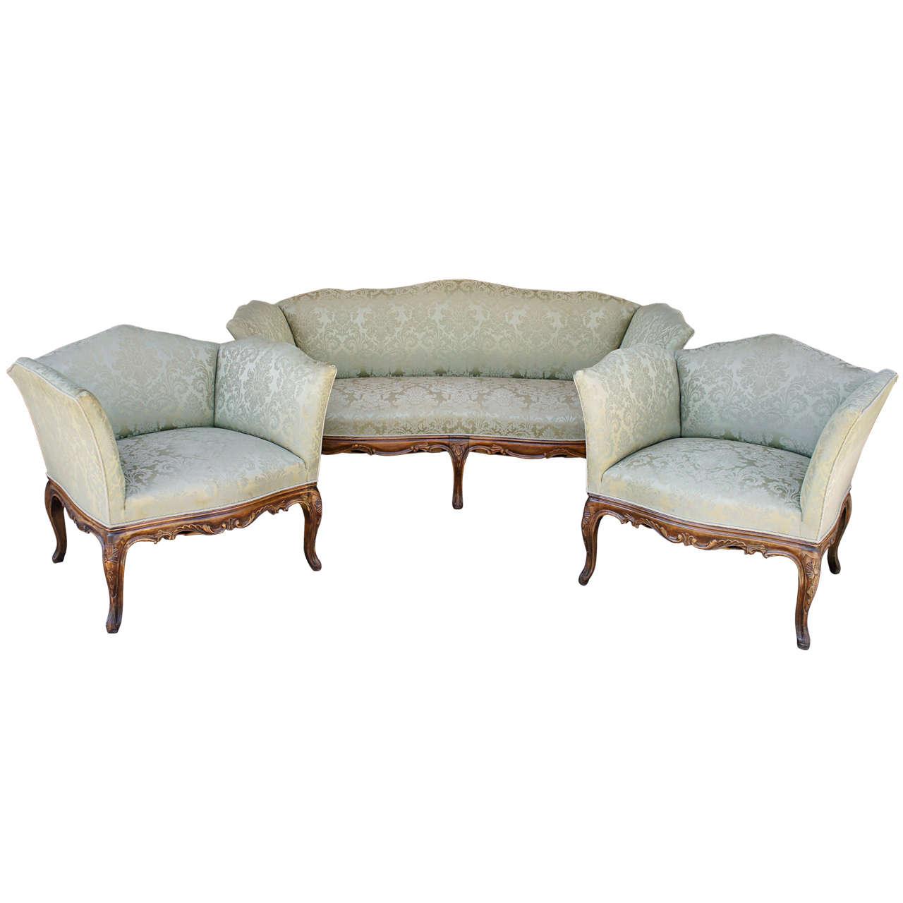 french provincial sofa salon set at 1stdibs
