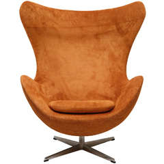 "Arne Jacobsen ""Egg"" Chair"