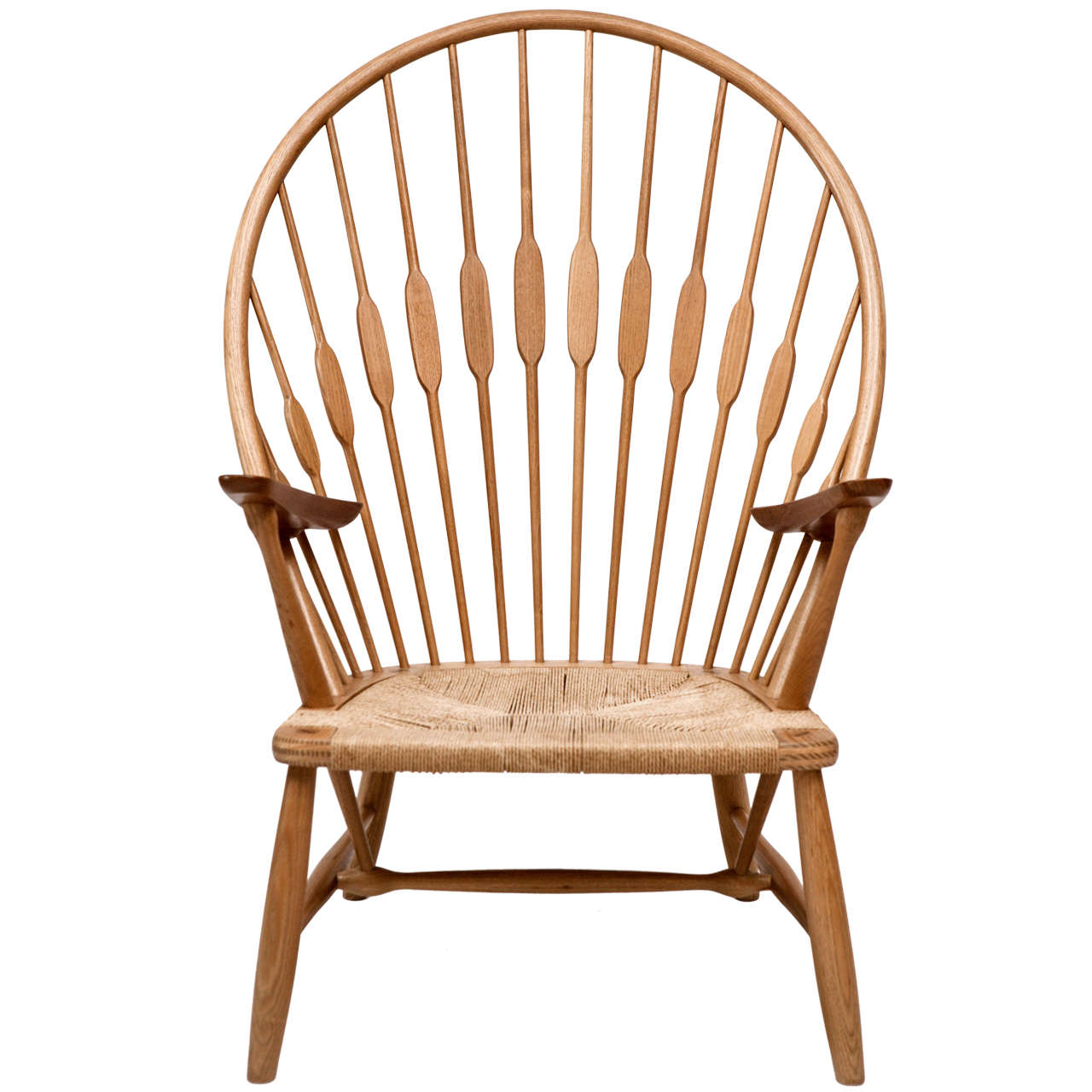 Good Hans Wegner Peacock Chair 1