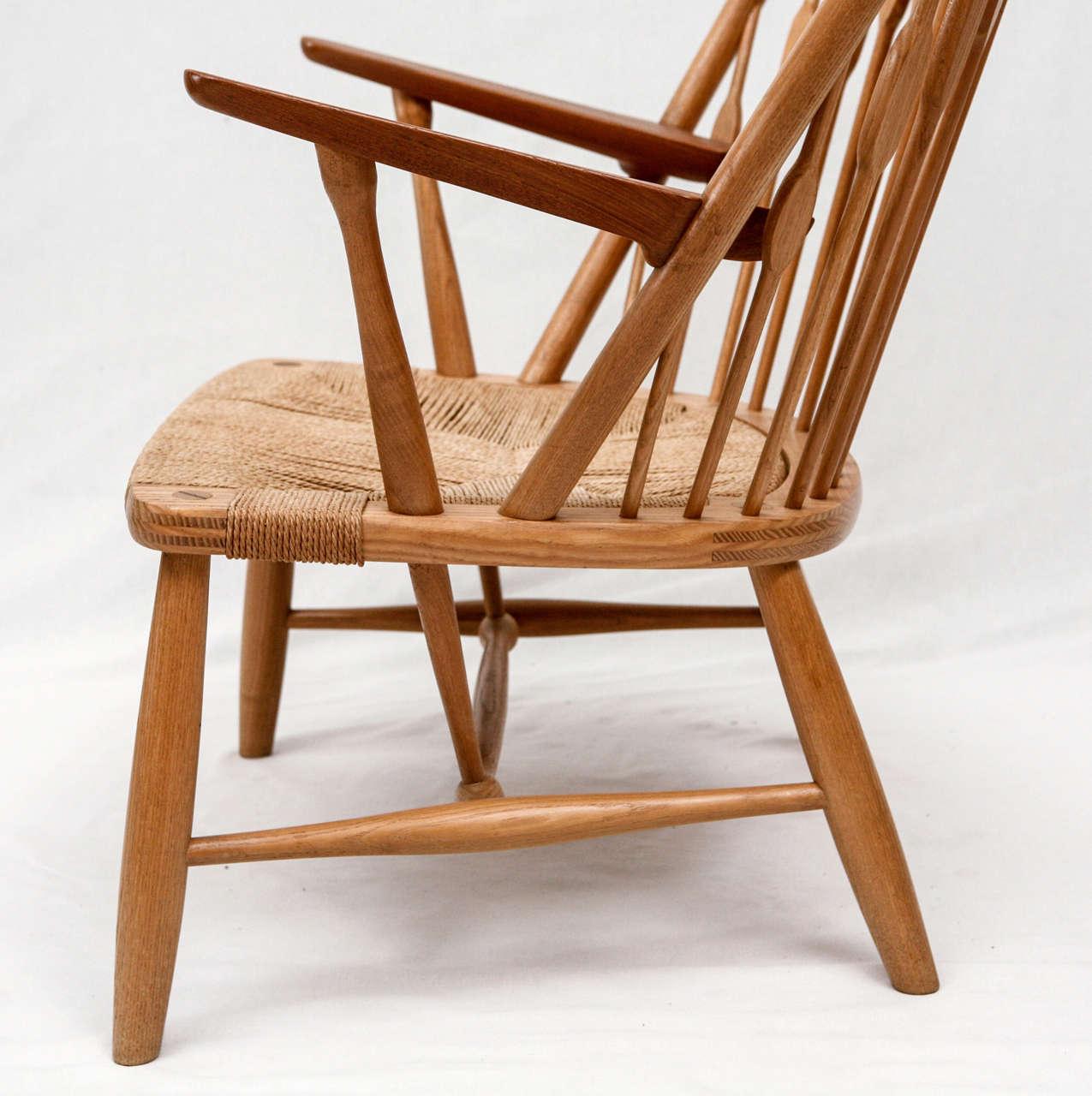 Hans Wegner Peacock Chair 7