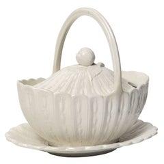 19th Century English, Creamware Sauceboat