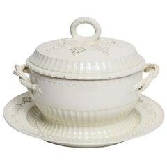 18th Century Creamware Tureen