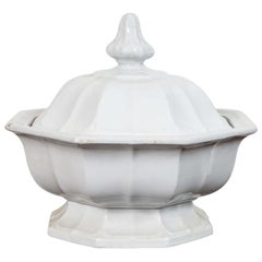 Ironstone Footed Tureen