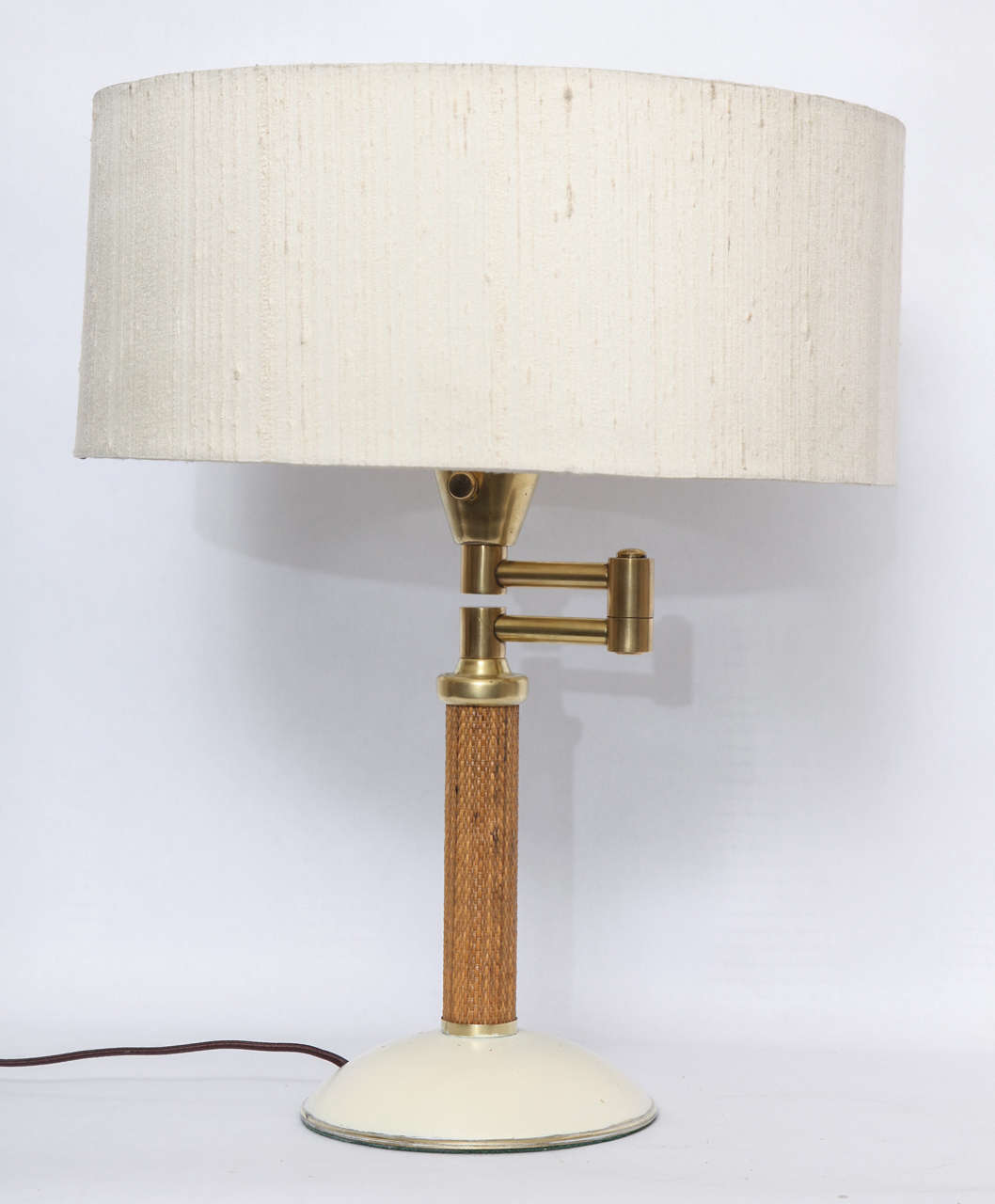 1930s American Modernist Articulated Table Lamp Attributed to Kurt Versen 2