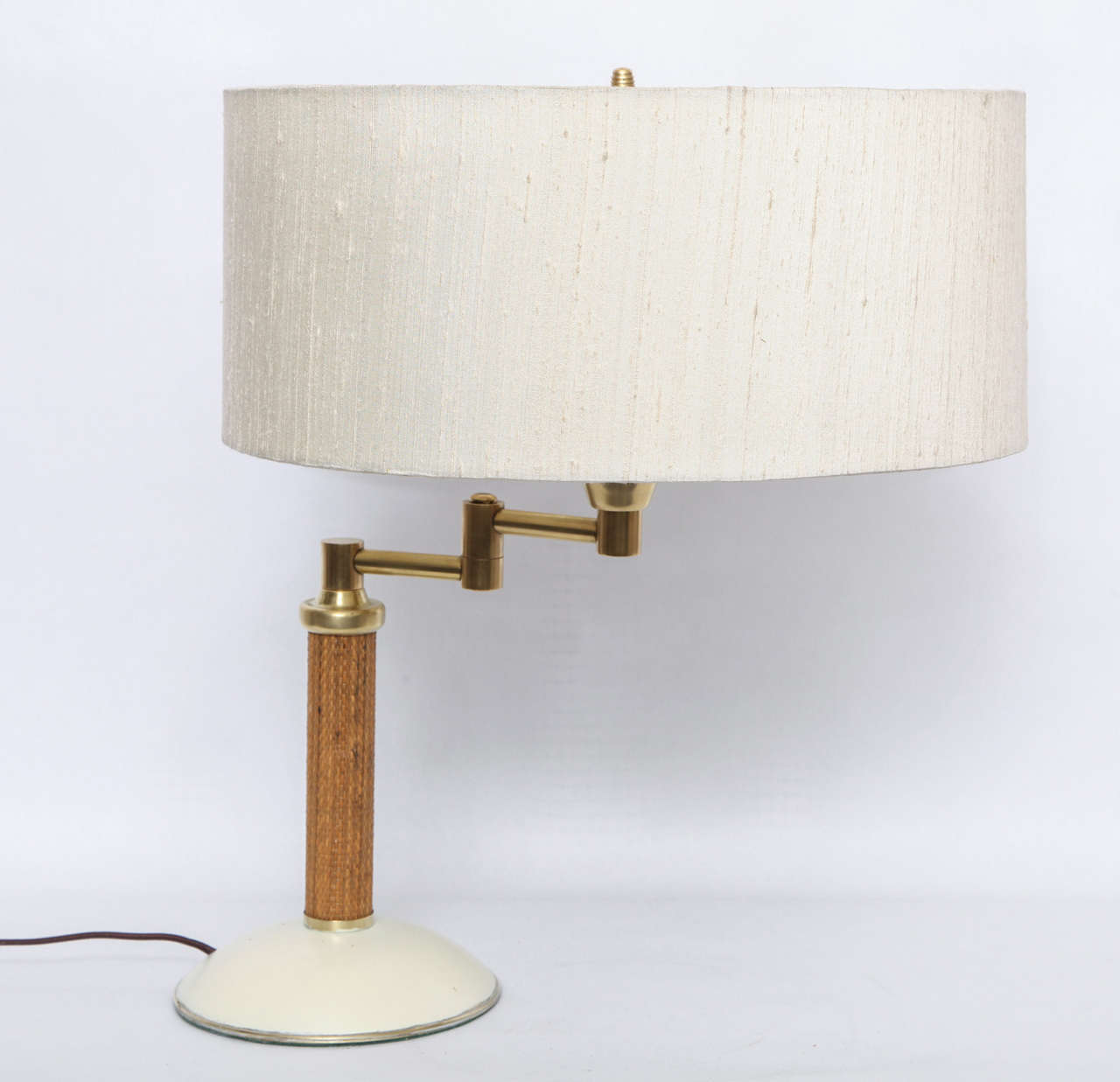 1930s American Modernist Articulated Table Lamp Attributed to Kurt Versen 3