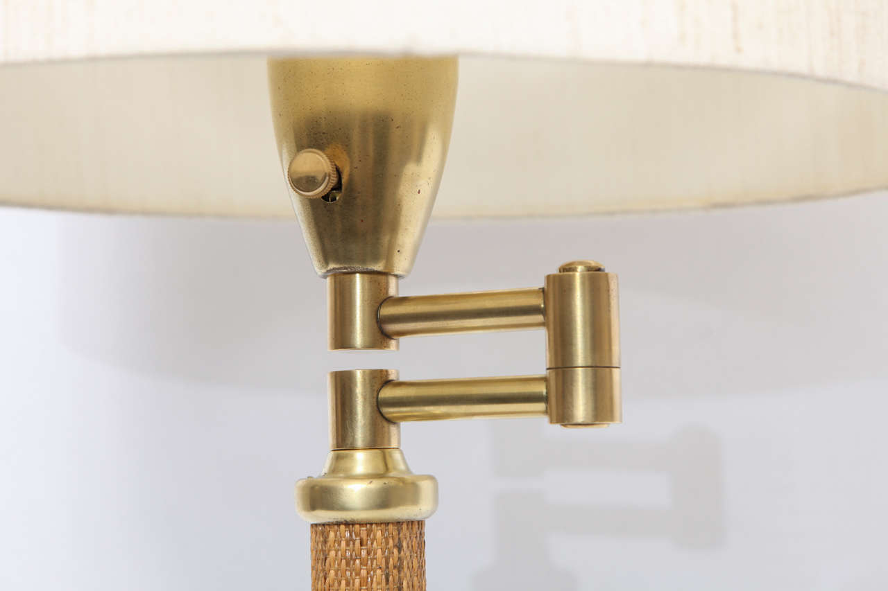 1930s American Modernist Articulated Table Lamp Attributed to Kurt Versen 6