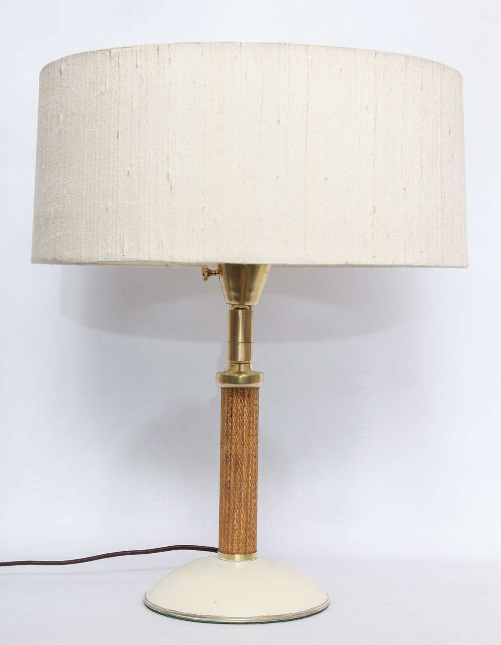 1930s American Modernist Articulated Table Lamp Attributed to Kurt Versen 8