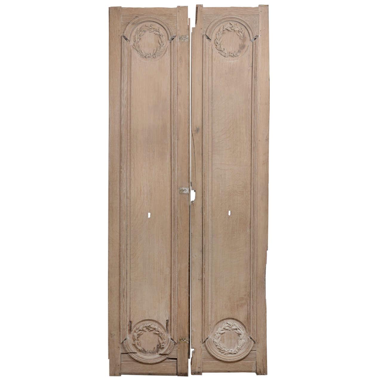 Pair of 18th Century Door Panels