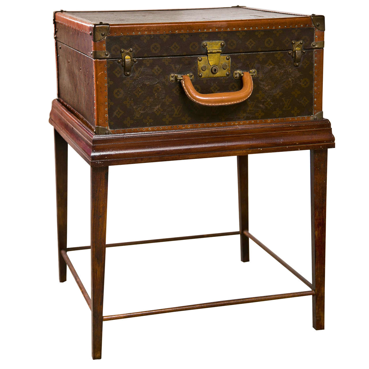 Louis Vuitton Suitcase Table At 1stdibs