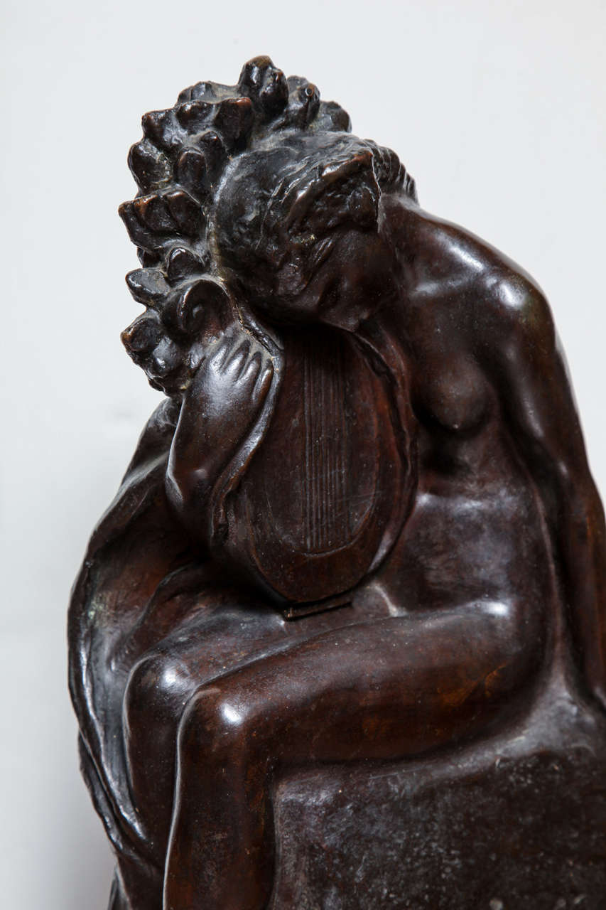 Art Deco Bronze by Amedeo Gennarelli In Good Condition For Sale In Bridgewater, CT