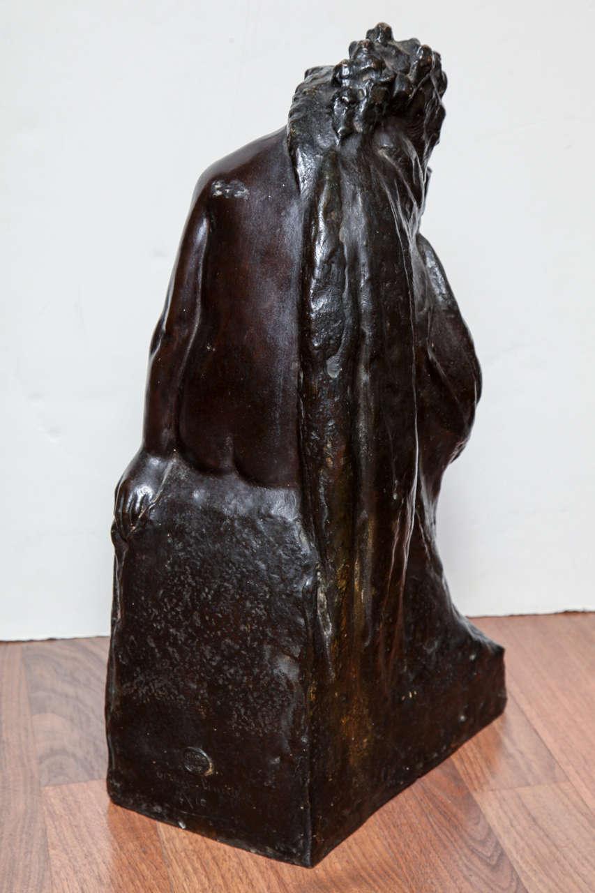 Art Deco Bronze by Amedeo Gennarelli For Sale 1