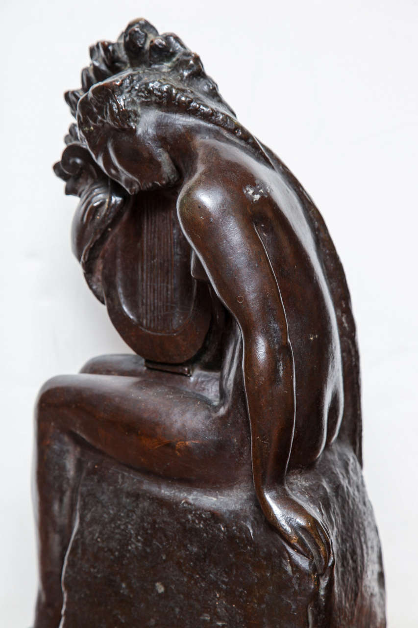 Art Deco Bronze by Amedeo Gennarelli For Sale 3