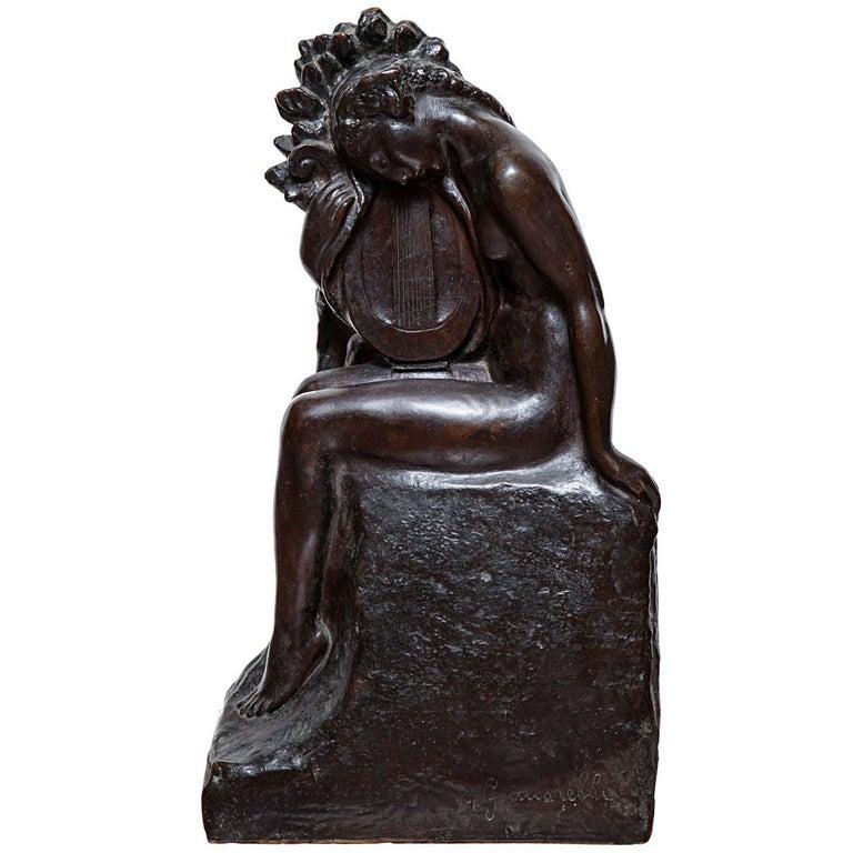 Art Deco Bronze by Amedeo Gennarelli For Sale