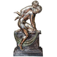 French Art Deco Bronze by Abel R. Philippe