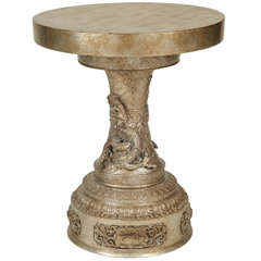 Oriental side table by James Mont