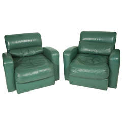 Pair of Club chairs by Jay Spectre