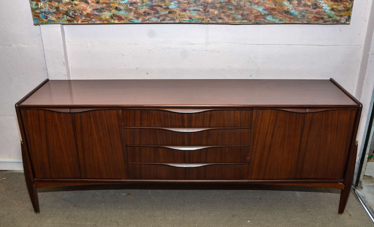 1970s danish sideboard at 1stdibs for Sideboard 2 50 m