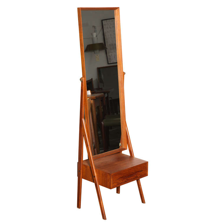 arne vodder full length mirror vanity at 1stdibs