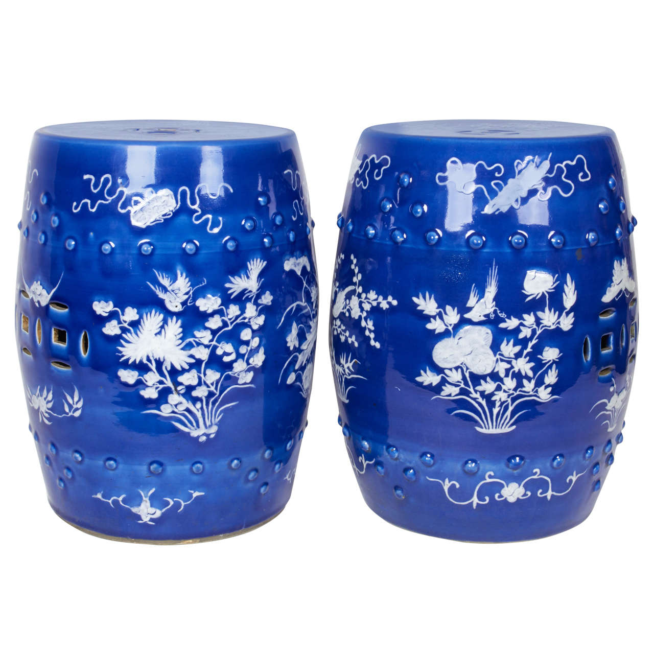 Nice Pair Of 18th Century Chinese Export Porcelain Famille Rose Covered Jars For  Sale At 1stdibs