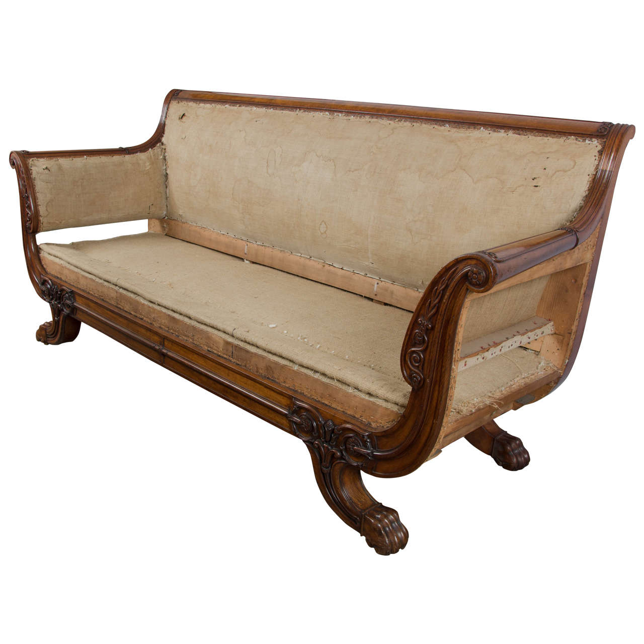 Early 19th Century Mahogany Regency Sofa