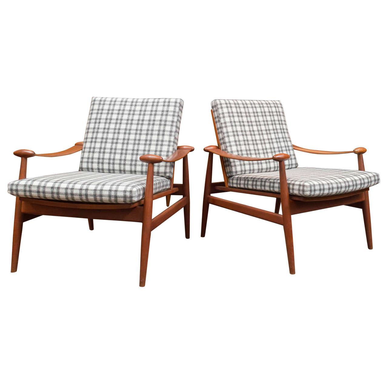 Finn Juhl Model 133 Spade chairs, 1950s