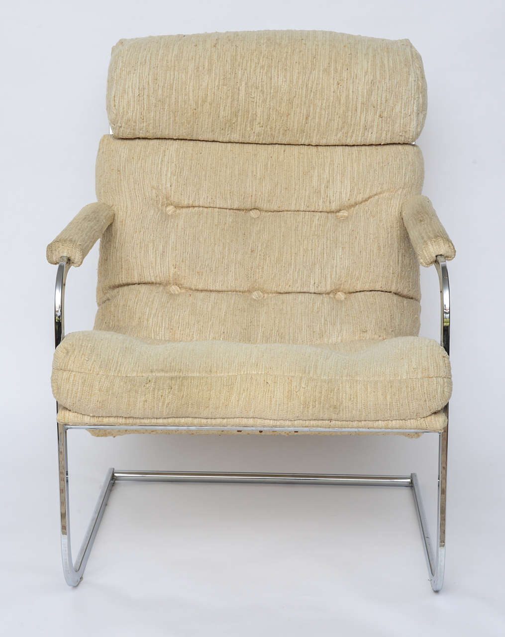 Milo baughman style cantilever lounge chair 1960s for sale for Sixties style chairs