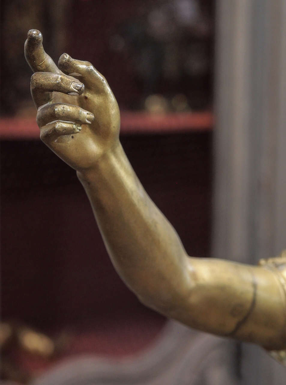 19th Century Bronze Statue of Caesar In Good Condition For Sale In New Orleans, LA