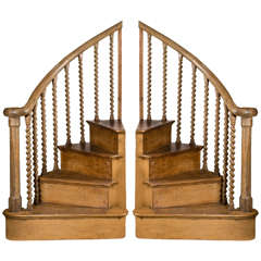 Pair of Antique Pine Stair Steps