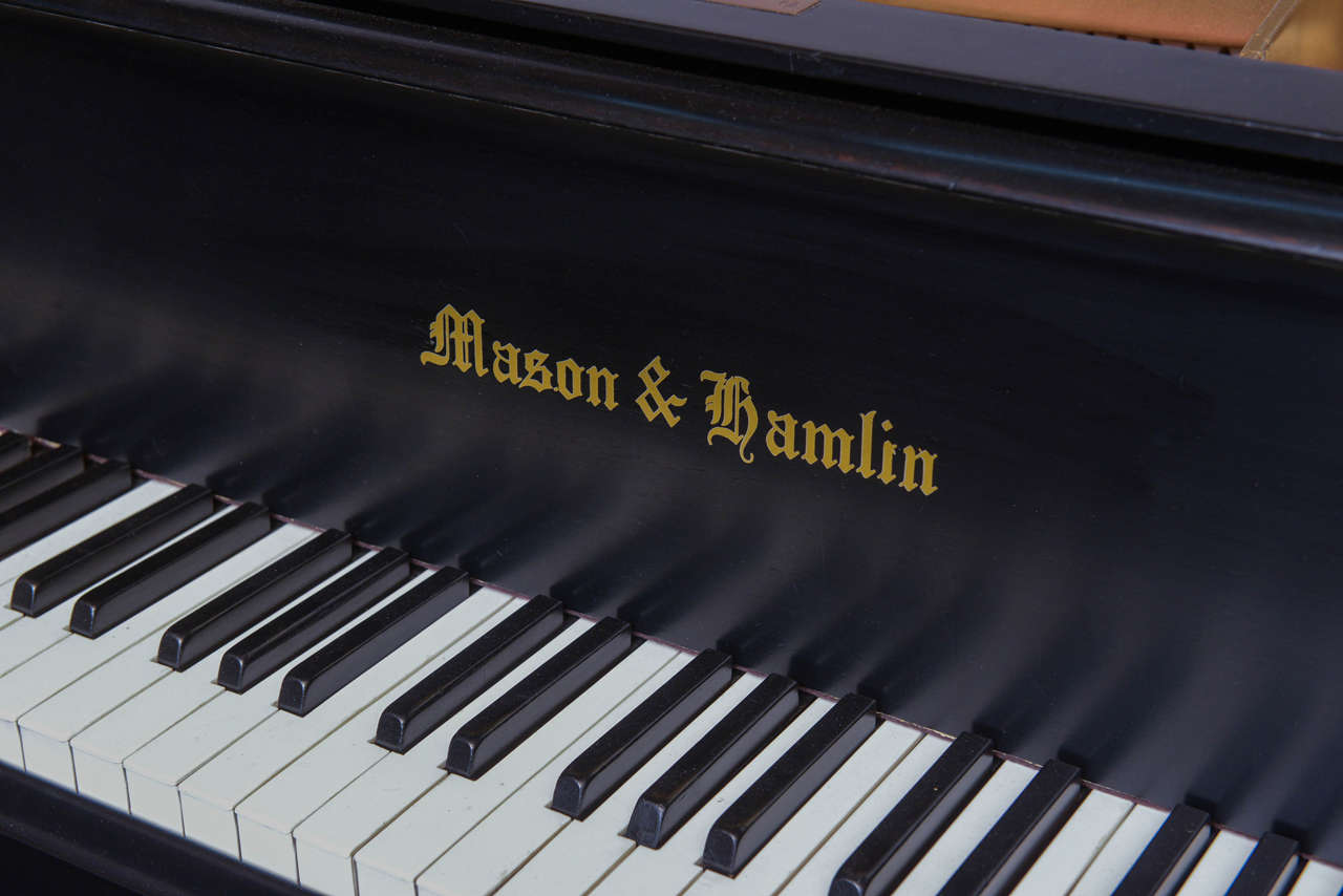 Mason & Hamlin Grand Piano with Lucite Top 3