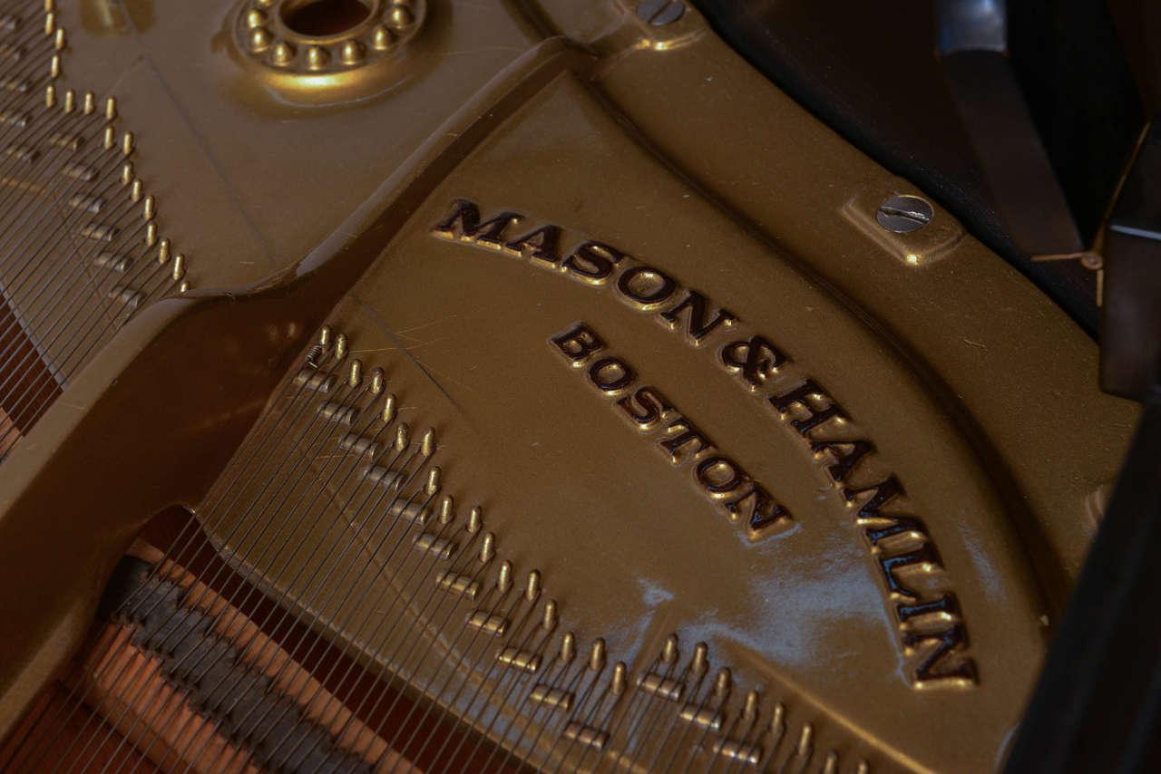 Mason & Hamlin Grand Piano with Lucite Top 5
