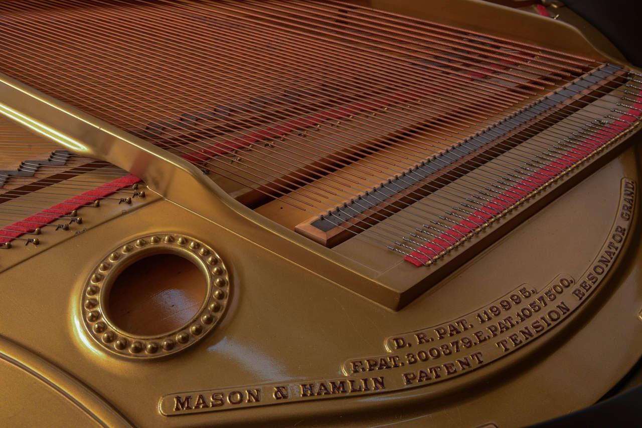 Mason & Hamlin Grand Piano with Lucite Top 6
