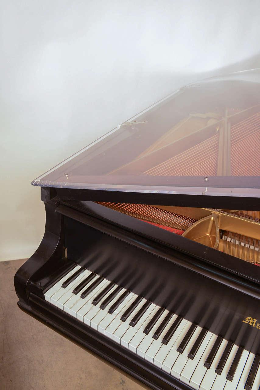 Mason & Hamlin Grand Piano with Lucite Top 7