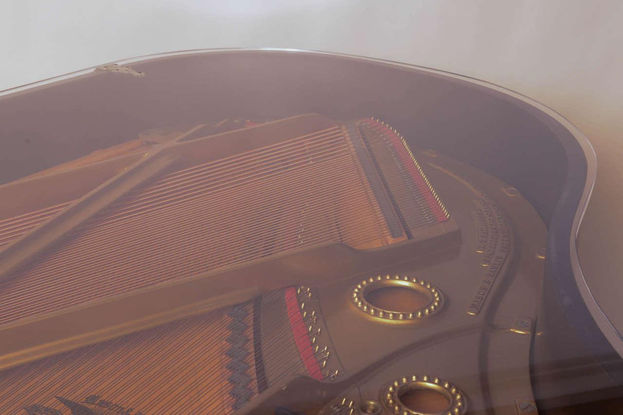 Mason & Hamlin Grand Piano with Lucite Top 10