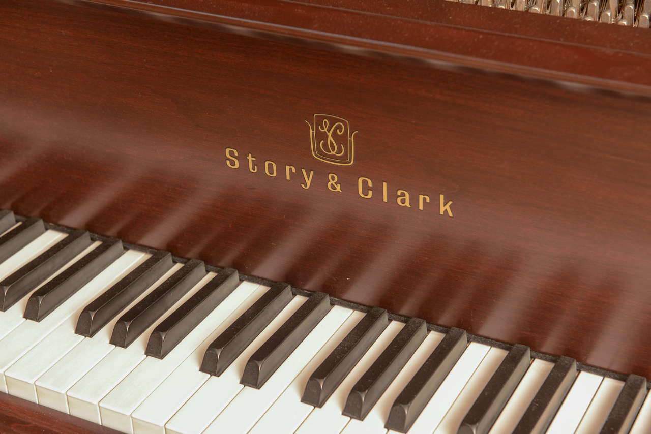 Story & Clark Baby Grand Piano with Bench 3
