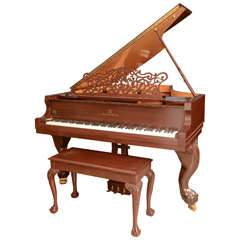Maurice dufrene 1925 paris expo piano for sale at 1stdibs for Baby grand piano height