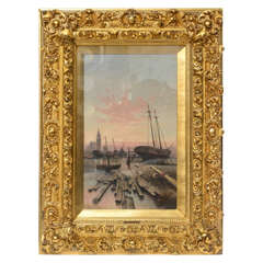 Oil on Canvas Signed C. Kaufman, 1894