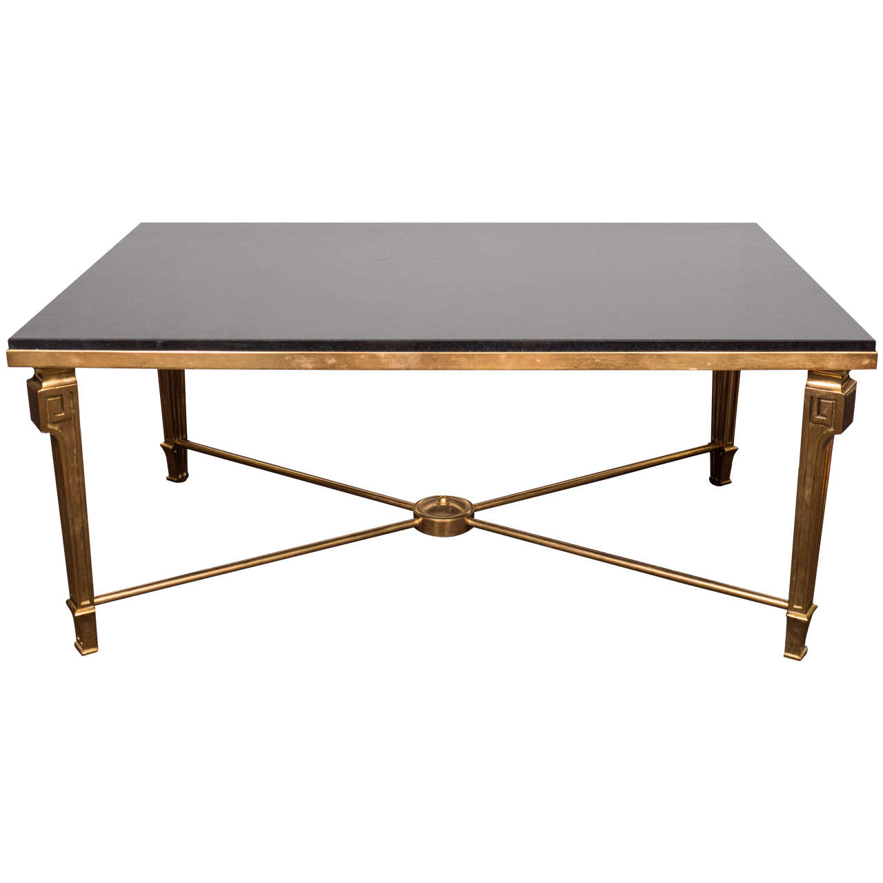 Spectacular Art Moderne Style Bronze Coffee Or Cocktail Table By Maison Jansen At 1stdibs