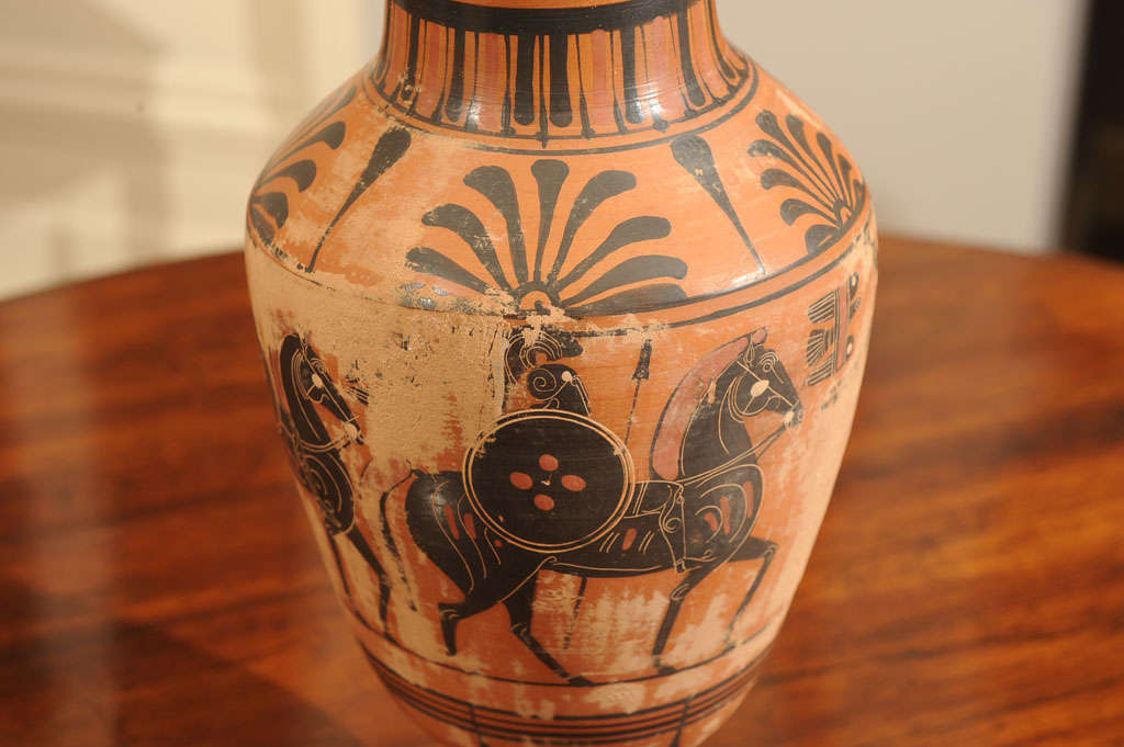 Late 19th Century Terracotta Grand Tour Pottery Vessel 5